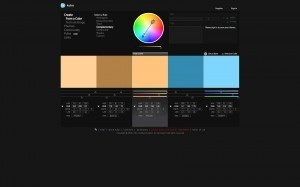 Captura en la creació mitjançant un color
