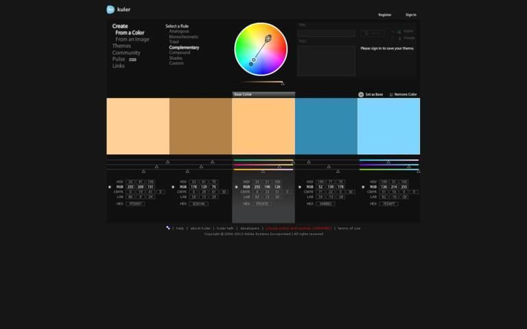 Crear patrons de color per la teva web